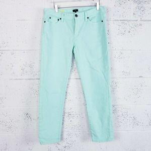 J Crew Toothpick Stretch Straight Jeans Size 30